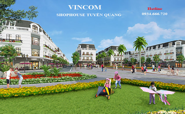 Khu vui chơi cho trẻ em Vincom Shophouse Tuyên Quang
