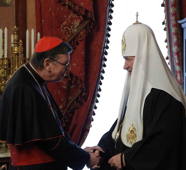 O Patriarca Kirill recebe o Cardeal Koch, presidente do Conselho Pontifício para a Unidade dos Cristãos. Um documento feito nos termos impostos por Moscou. Os católicos concernidos foram mantidos na ignorância do que se preparava