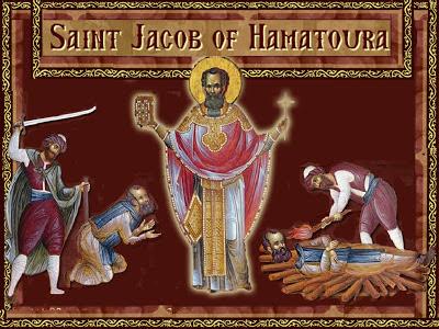 Αποτέλεσμα εικόνας για saint jacob of hamatoura