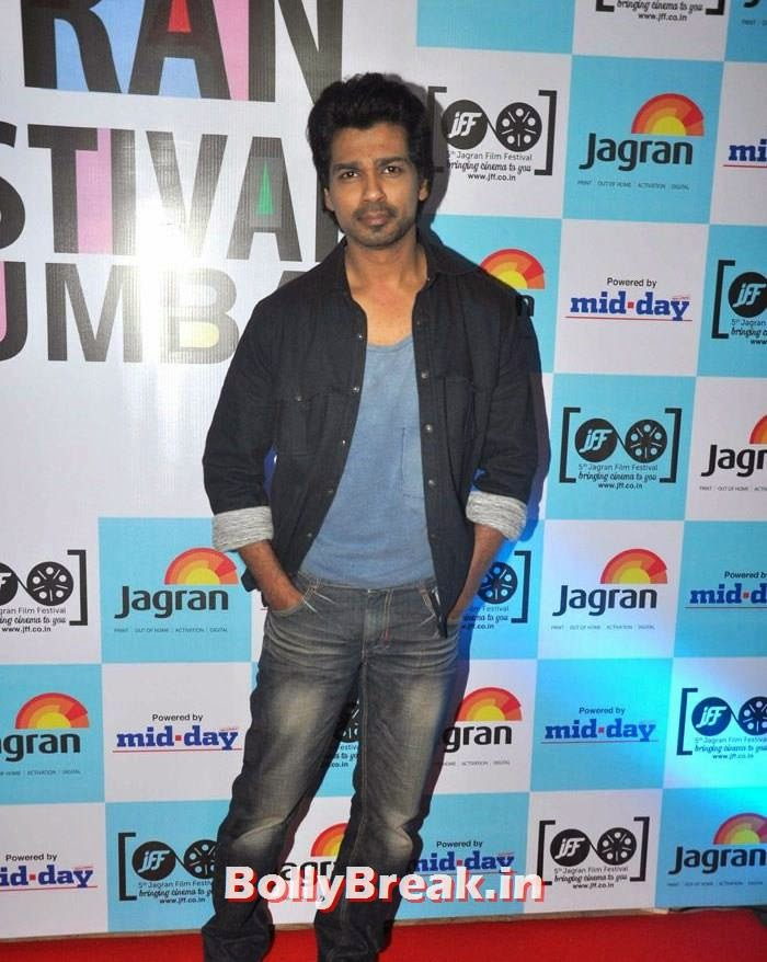 Nikhil Dwivedi, 5th Jagran Film Festival Red Carpet Pics