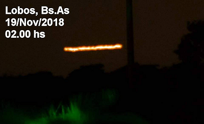 The 2018 UFO Wave in Full Swing - Argentina