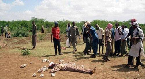 كارثة.. رجم رجل وقتله في ثاني ايام رمضان بتهمة الزنا