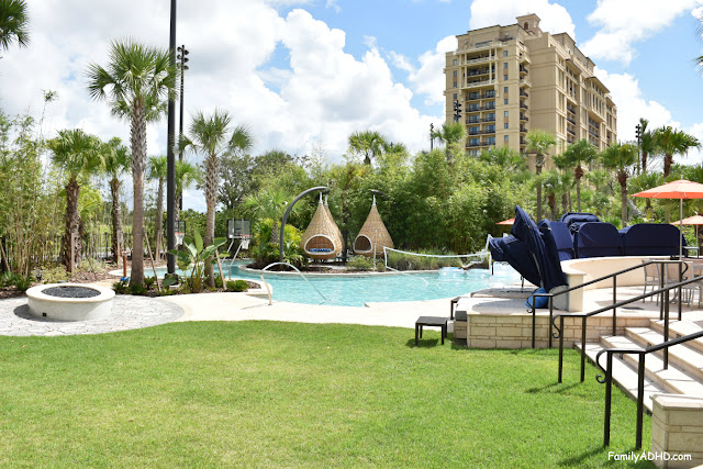 Four Seasons Resort Orlando at Walt Disney World Resort Park-View Suite Family Travel Guide water volleyball basketball