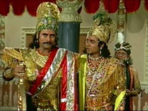 Mahabharat Gyan - shri krishna and Duryodhana