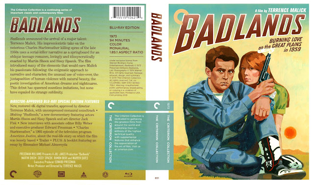 Badlands [1973] (scan) Bluray Cover