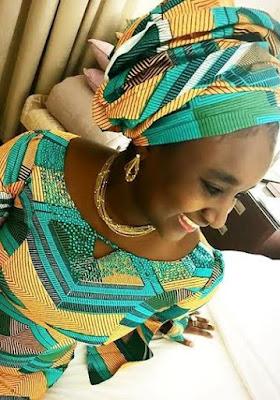 Mohammed Babangida's Rahama Indimi look charming and pretty