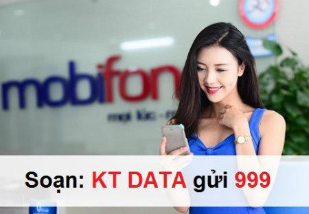 Cách kiểm tra dung lượng 3G Mobifone