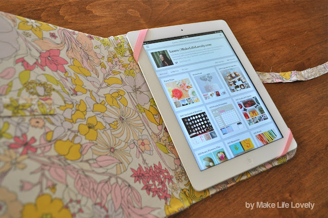 DIY iPad Case Tutorial (Made For Free Using Recycled & Upcyled ...