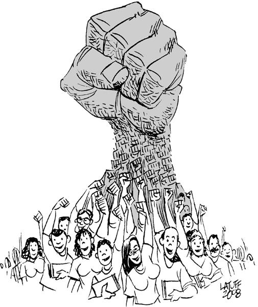 Resultado de imagem para trabalhadores organizados