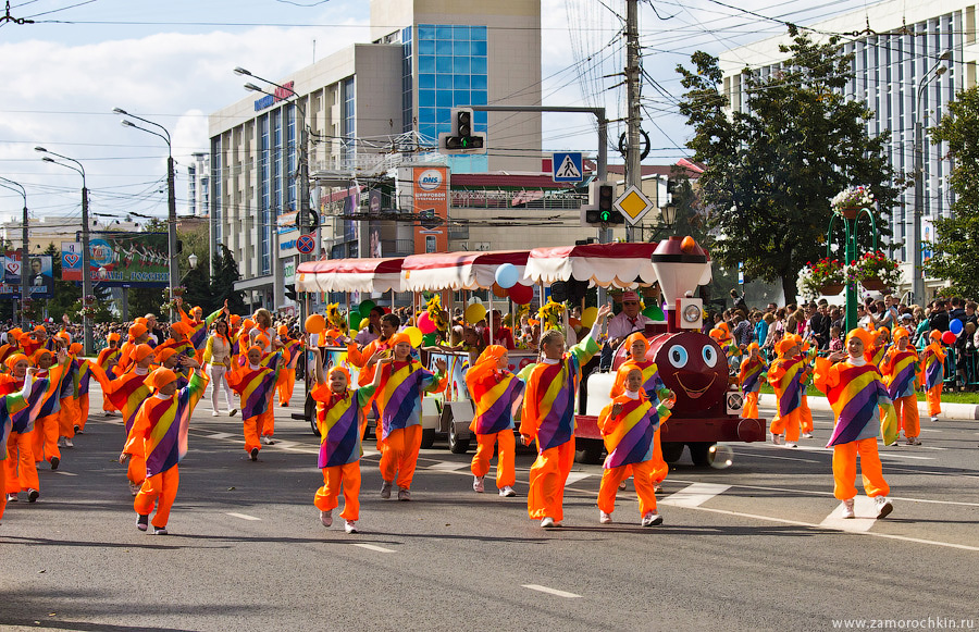 Празднование тысячелетия единения мордовского народа с народами России