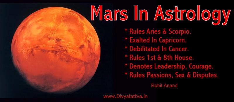 vedic astrology mars in scorpio