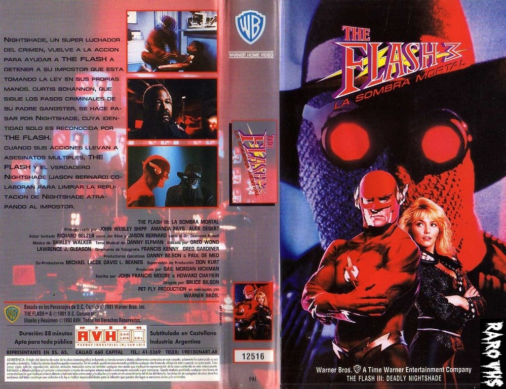 Flash III: Deadly Nightshade (1992, USA) de Bruce Bilson