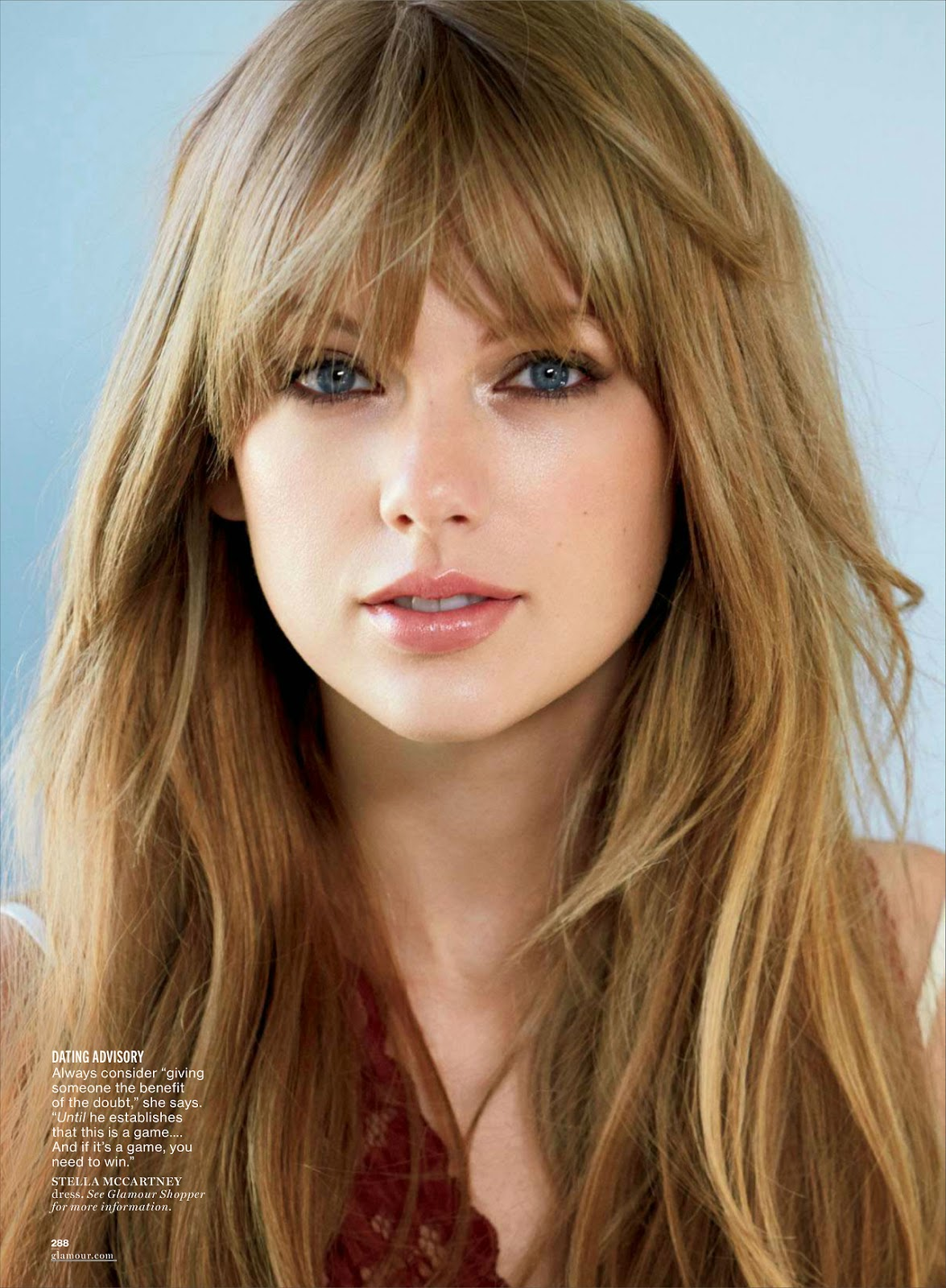 Taylor Swift In Vogue Magazine Australia November 2015: The Charmer Pages : Taylor Swift For Glamour