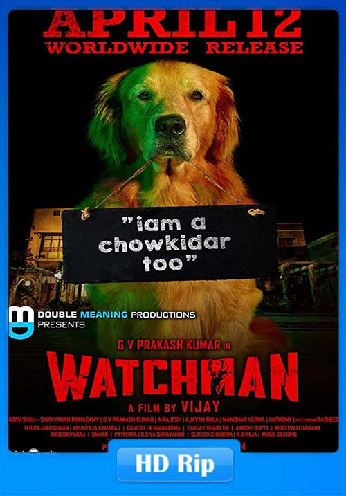 Watchman 2019 Tamil 720p HDRip ESubs x264 | 480p | 300MB | 100MB HEVC Poster