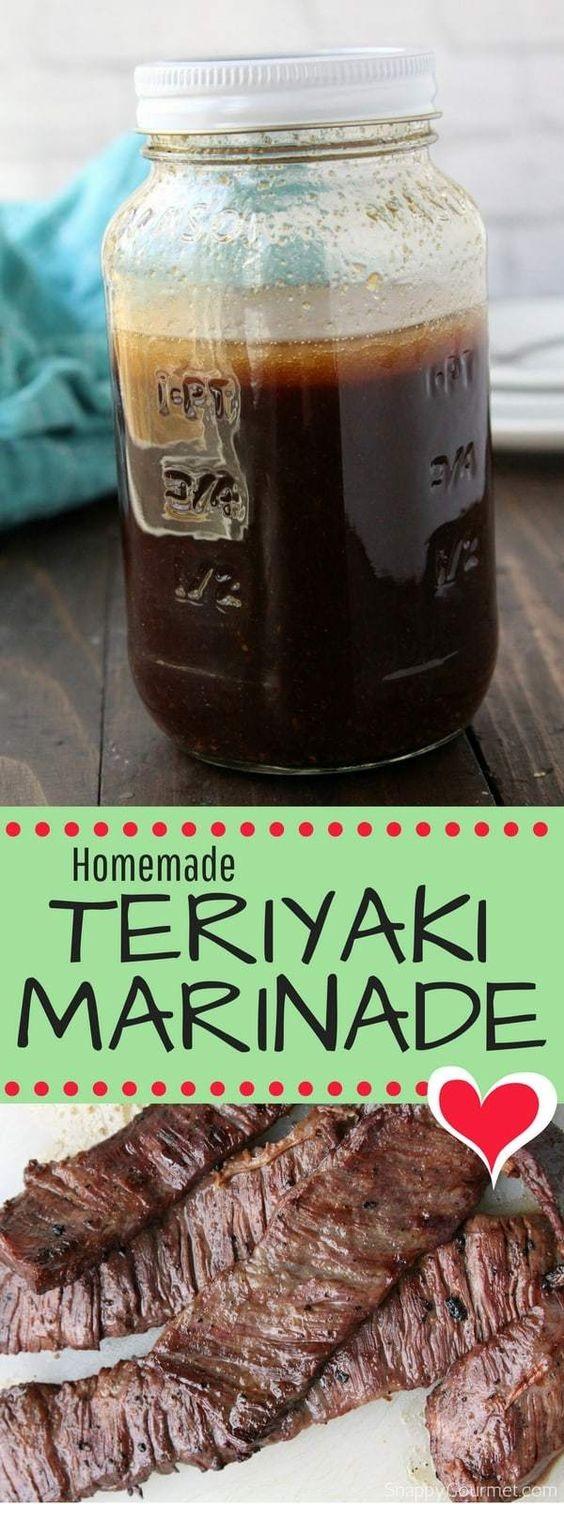 Homemade Teriyaki Marinade Recipe