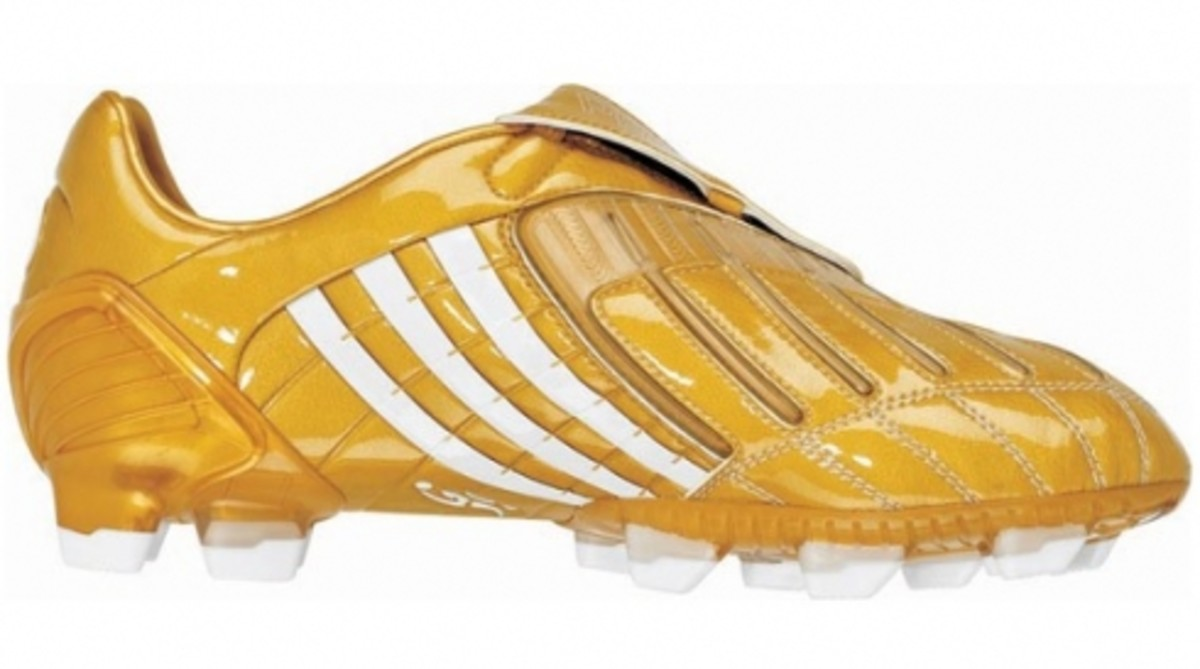 4da648f05 The regular edition gold Adidas Predator 19+ football boot will retail at  the same price as all previous standard colorways - 280 USD.