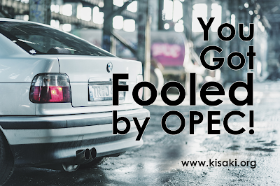 If you got a new gasoline powered vehicle you got fooled by OPEC