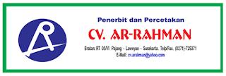 Lowongan Operator Mesin Bending di CV Ar-Rahman - Solo