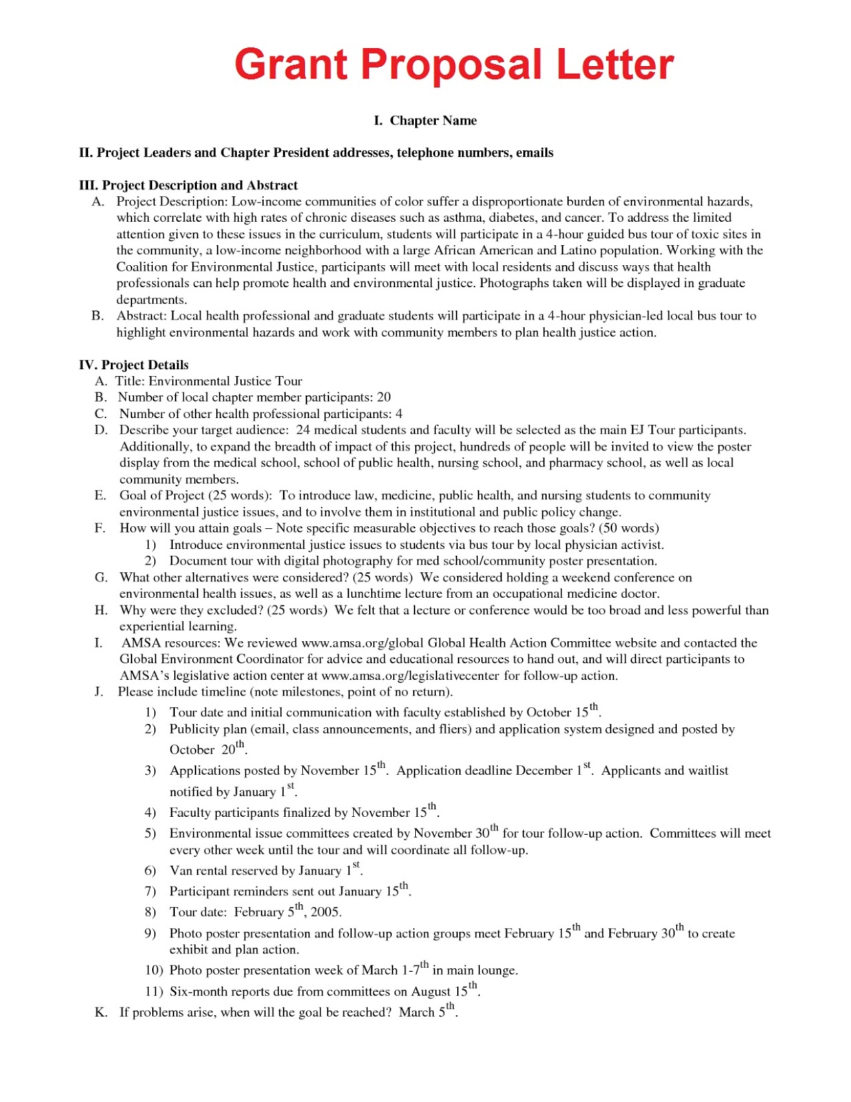 grant template for nonprofit - business letter sample november 2012