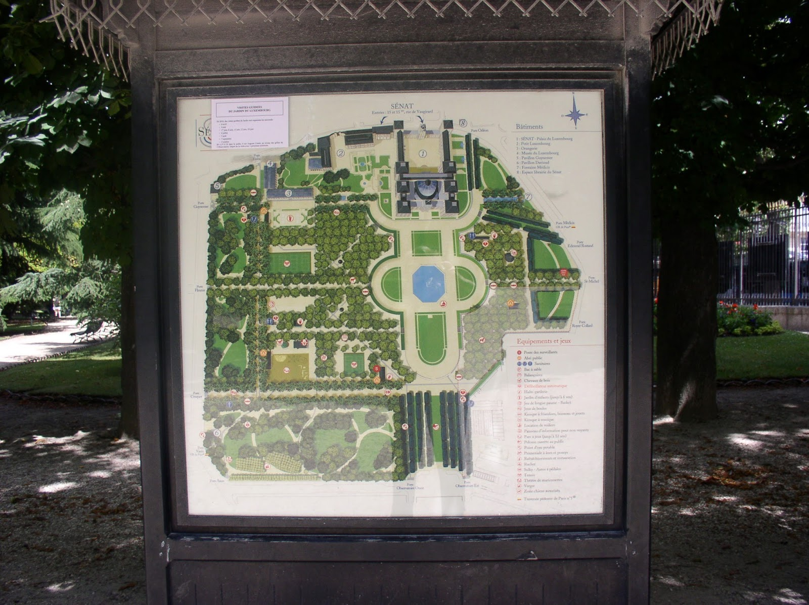 Map Of Paris France 6th Arrondissement.From Paris With Love The Luxembourg Garden