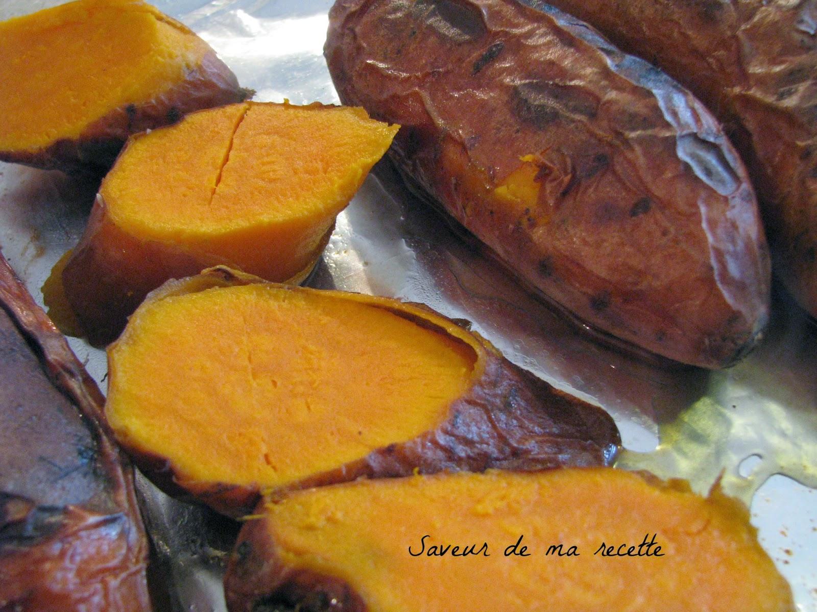 Saveur De Ma Recette Patates Douces Caramelisees Au Four