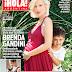 Brenda Gandini embarazada,en la revista  !Hola Argentina!