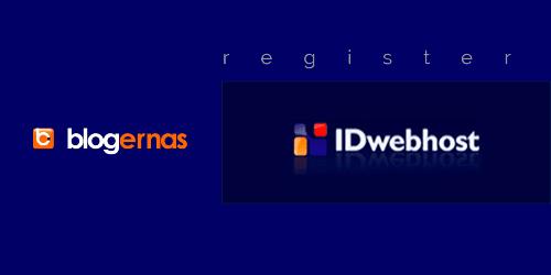 Cara Daftar Akun di Web Hosting IDwebhost