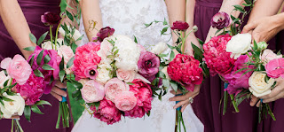 Brightly Colored Colorado Fête in Shades of Pink