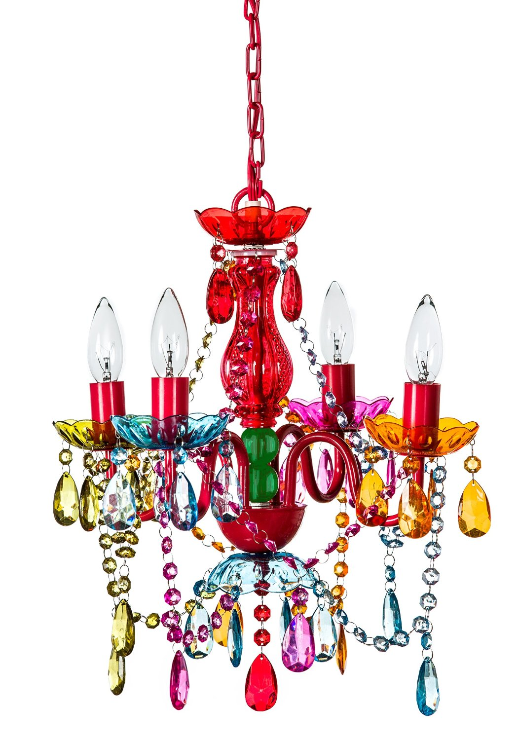 Total fab funky cool multi color crystal chandelier for girls funky cool multi color crystal chandelier for girls room arubaitofo Image collections