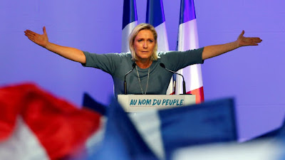 WAITING TO EXHALE: MADEMOISELLE PRESIDENT LE PEN