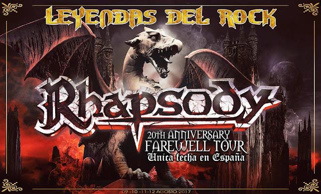 Rhapsody, Leyendas del Rock