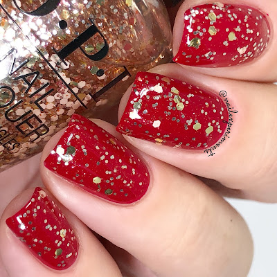 opi I pull the strings holiday 2018 the nutcracker and the four realms review