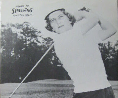 LPGA golfer Mary Lena Faulk