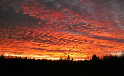 upper peninsula sunset