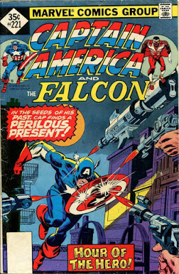 Captain America and the Falcon #221