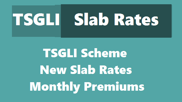 TSGLI Scheme New Slab Rates