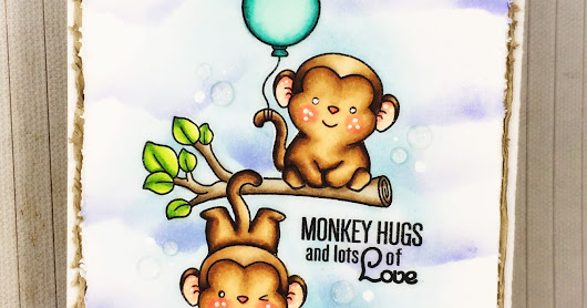 Sugar Pea Designs: Monkey Hugs And Lots of Love