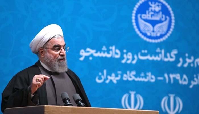 Presiden Iran, meminta agar seluruh umat islam di dunia bersatu untuk melawan AS (Amerika Serikat)