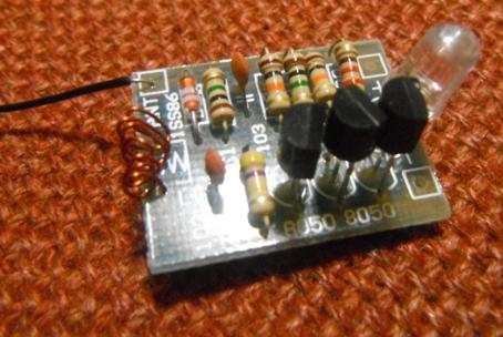 Tori Electronics Lab: Build the Mobile Phone Signal Flash