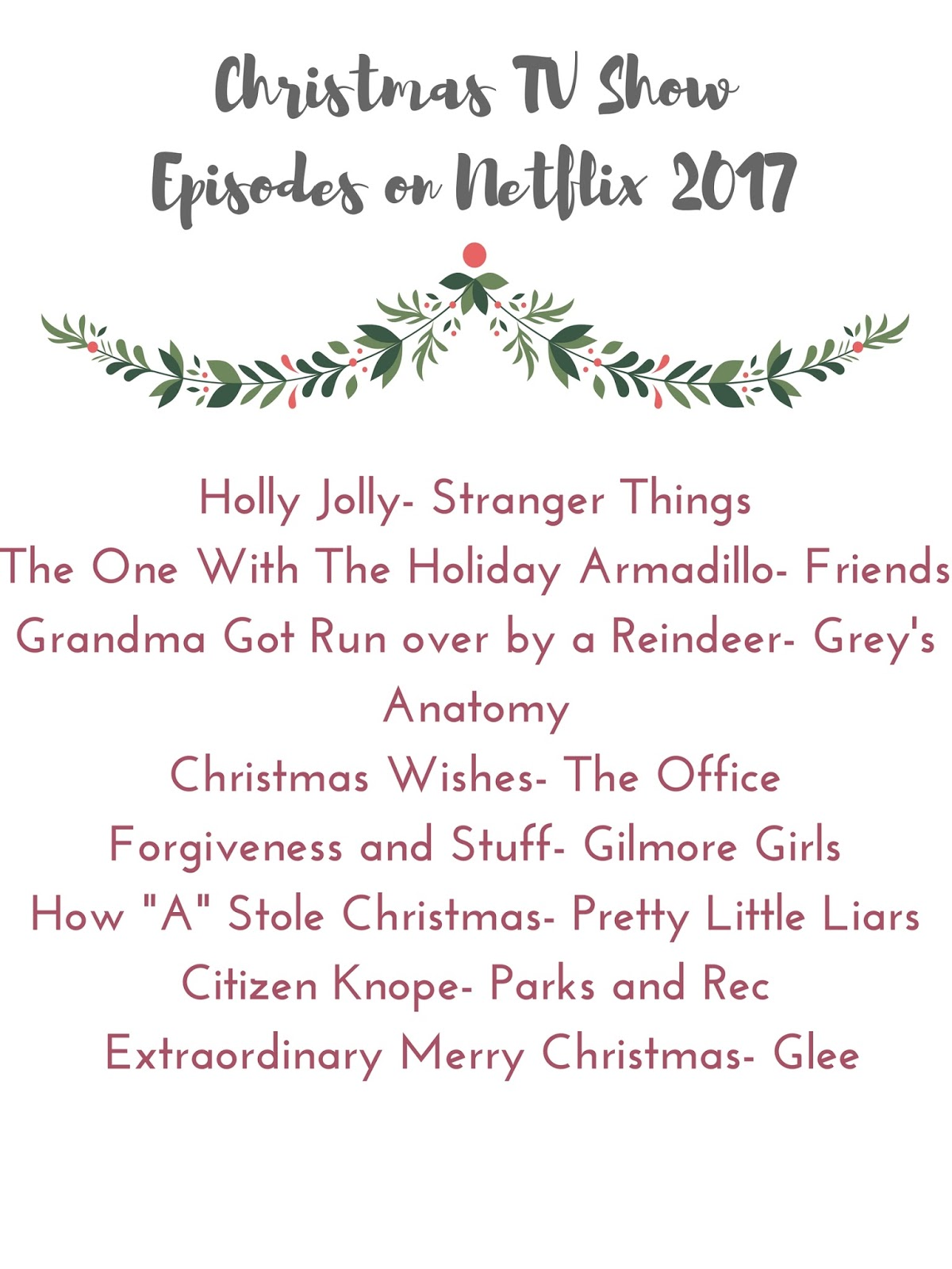 preppystyle: Christmas TV Shows on Netflix