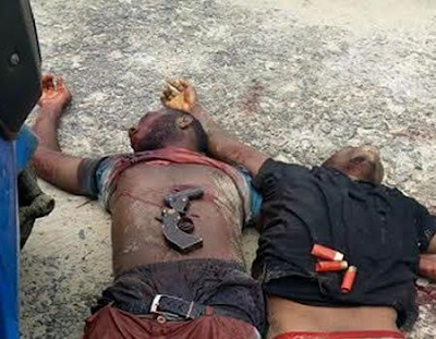 Two Armed Robbers Killed In Fierce Gun Battle With Police