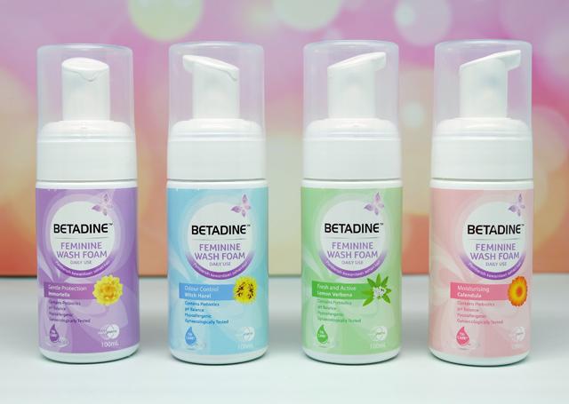 betadine feminine wash foam