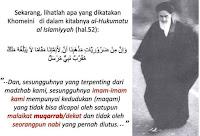 Image result for kenyataan khomeini Nabi Muhammad nabi yang gagal