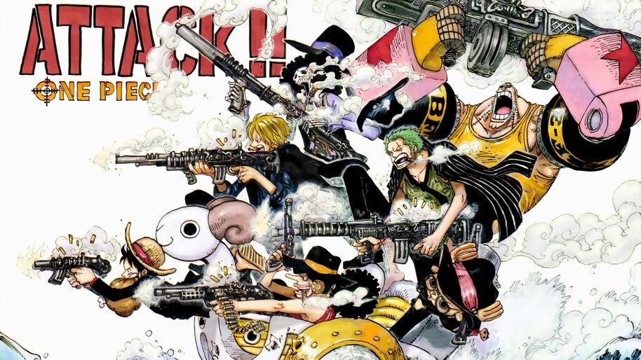 One Piece, Straw Hat Pirates, 4K, #6.155