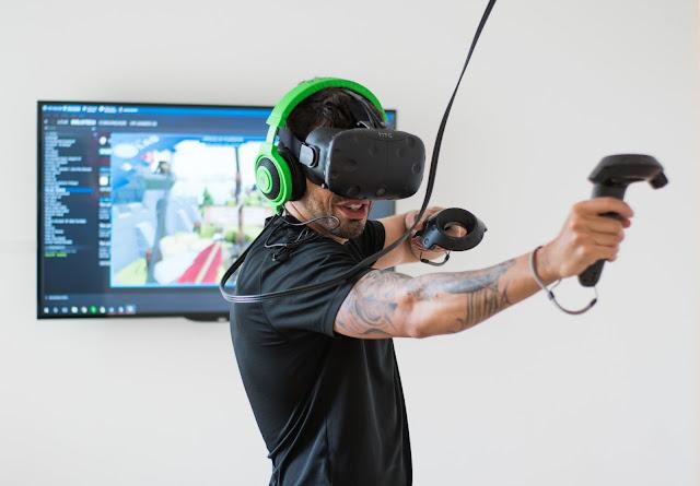 VR Gamer Granja Vianna