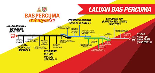 Bas Percuma Selangorku Free Bus Services Bus Routes