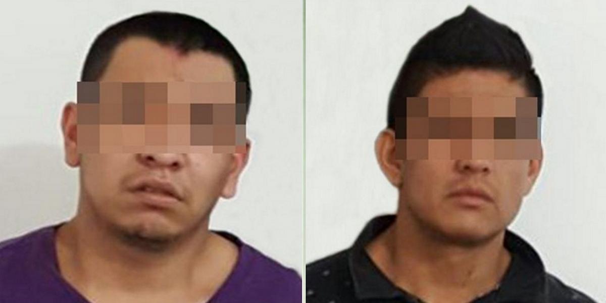 """Detienen a dos integrantes de """"Los Rojos"""" en posesión de cristal, marihuana y un arma en Morelos"""