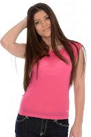 Tricou PUMA pentru femei SHALA BURN OUT TOP (PUMA)