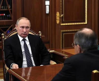 Vladimir Putin, Sergei Lavrov.