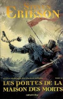 Couverture livre - critique littéraire - Le Livre Malazéen des glorieux défunts - Les portes de la Maison des morts